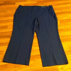 New Lane Bryant Navy Classic Trousers